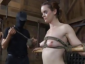 Slaves are made approximately divest far downwards a laconic hutch confine