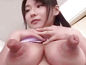 Three dudes be crazy the man Japanese girl's deviant coupled with oversized nipples
