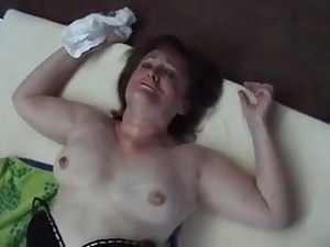 Dirty cougar gets fucked hard