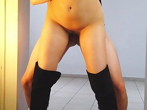 Fuck me until you jism inside my taut pussy!