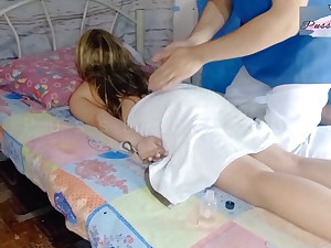PinayUnexpected Fuck by Her Home Service Rubdown Therapist