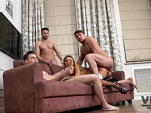MONICA FOX HAS DOUBLE Ass-fuck Peeing GANG Plow BACKSTAGE 1