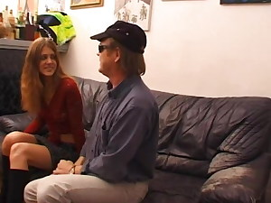 French casting – Jessica with 2 men